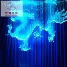 full image for fiber optic solar lighting crystal chandeliers long lobby lights cable decoration fibre model