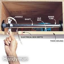ceiling fan box. how to install ceiling fans fan box l