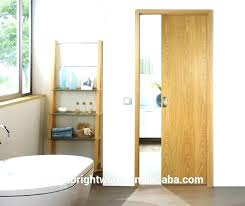 wood sliding door solid doors internal room veneered pocket patio wooden hardware exterior