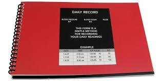 blood pressure readings log blood pressure log our favorite choices safe senior living