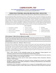 Gallery Of Objectives For Nurse Practitioner Resume Resumes Design