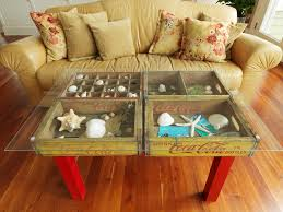 diy repurposed furniture. Exellent Furniture Table Over Ottomans In Diy Repurposed Furniture R