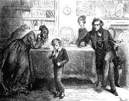 review david copperfield charles dickens girl her head in  mr and miss murdstone david and his mother