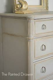 painting furniture ideas. paint color highlight annie sloan french linen and paris grey the painted drawer painting furniture ideas e