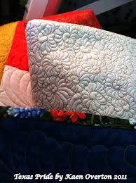 19 best Quilt Designs - Longarm images on Pinterest | Embroidery ... & Close up showing quilting design - hand guided on my A1 Longarm Quilting  Machine Adamdwight.com