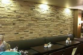 Small Picture How to Turn Your Stone Wall into a Feature Wall