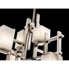 kichler city lights classic pewter seven light chandelier 53042940clp 1 53042940clp 2