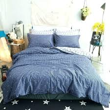dark green duvet cover set dot print blue cotton fabric queen king size bedding plain