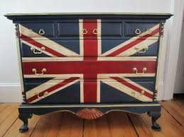painted furniture union jack autumn vignette. Union Flag Dresser Painted Furniture Jack Autumn Vignette