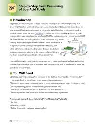Ball Canning Altitude Chart Canning Step By Step For Low Acid Foods By Survivit Llc Issuu