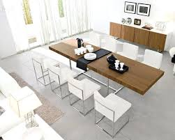 expandable round dining room table expanding modern extendable winning with r8