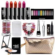 adbeni bo makeup set 10 color eyeshadow eyeliner lipgloss pallet 12 color kajal