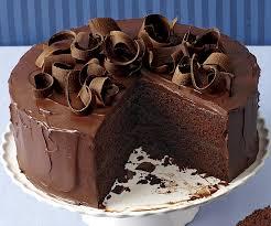 Chocolate Honey Ganache Layer Cake FineCooking