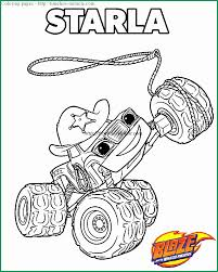 Blaze And The Monster Machine Coloring Pages Marvelous Blaze And The