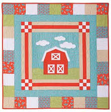 Big Barn Baby Quilt Pattern Download from ConnectingThreads.com ... & Big Barn Baby Quilt Pattern Download Adamdwight.com