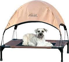 outdoor dog bed with canopy bed with canopy image of outdoor elevated dog bed with canopy