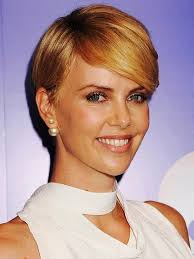 Charlize Theron Short Hair Style short haircuts for wavy curly hair hairstyles for women 1827 by wearticles.com