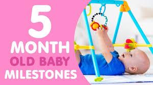 26 Month Old Milestones Chart 5 Month Old Baby Milestones
