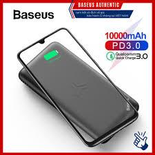 Pin dự phòng tích hợp sạc nhanh không dây Baseus S10 Bracket Power Bank  10,000mAh