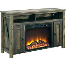 electric fireplace media console target rustic brown reviews with
