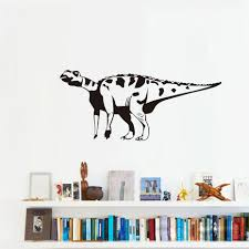 Brontosaurus Sofa Background Decorative Wall Sticker PVC High Quality  Hollow Out Dinosaur Animal Wall Decal Free Shipping-in Wall Stickers from  Home ...