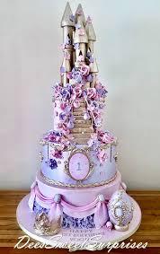 Vogues 1st Birthday Castle Cake Deessweetsurprises Facebook