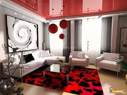 Red Living Room Red Color Living Room Ablimous