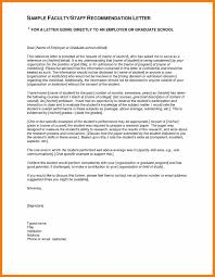 7 Writing A Letter Of Recommendation For Graduate School Appeal