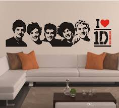 One Direction Bedroom Decor 1d Wall Decal Sticker Home Decor Art Mural Poster Graphic One