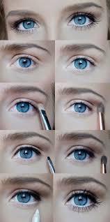 eye makeup for blue eyes tutorial skinny tips daytime eye glam