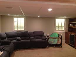 Looking for more light in a dark basement Faux basement windows are