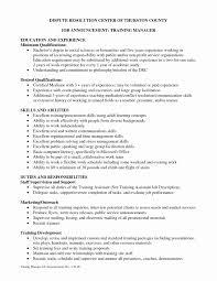 Cover Letter Training Development Manager Sample Resume Resume