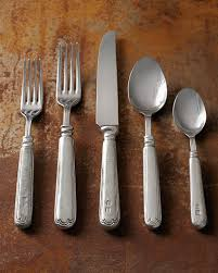 stainless steel flatware service