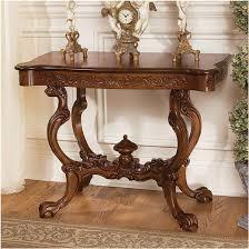 Design Toscano Saffron Hill Console Table Amazon Com Xoticbrands Antique Replica Hand Carved Console