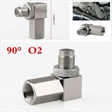 90 Degree Cel Eliminator Catalytic Converter Check Engine Light O2 Sensor Bung