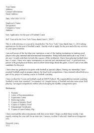Cover Letter For Coaching Chechucontreras Com