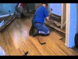 Mr Bamboo Flooring Installer Youtube