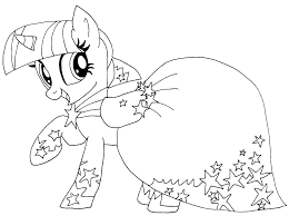 Printable Coloring Pages My Little Pony My Little Pony Coloring