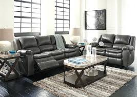 ashley reclining sofa casual home a furniture and bedding market long knight gray intended for linebacker ashley reclining sofa