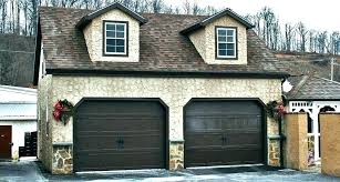 average cost of a new garage door 2 car to spring replacement