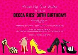 Grown Up Birthday Invitations High Heeled Shoes Birthday Invitations
