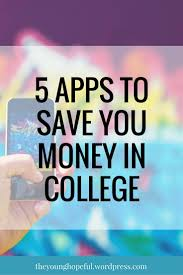 best apps to save money ideas budgeting money  5 apps to save you money in college