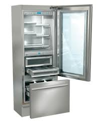 change bottom from frig to freezer in 2 hour period from this innovative  manufacturer.Glass door refrigerator with bottom freezer from Italian  company ...