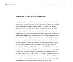 biography tupac shakur gcse religious studies  document image preview