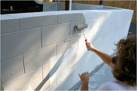 diy paint cinder block wall little things bring smiles how to paint cinder block
