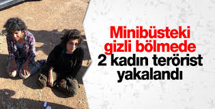 Diyarbakır'da 2 kadın terörist yakalandı