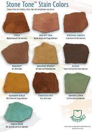 Kemiko Color Chart Kemiko Stone Tone Concrete Stain