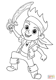 Printable Coloring Pages pirate coloring pages free : Unique Jake And The Neverland Pirates Coloring Pages To Print 25 ...