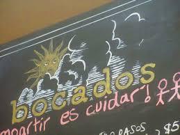 menu board bocados picture of bocados spanish kitchen