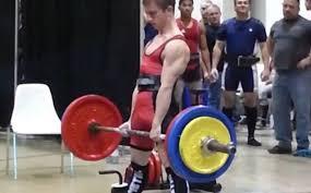 average deadlift strength for 13 14